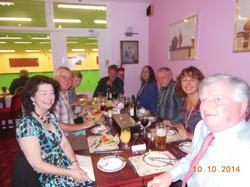 End of Season Dinner 2014
