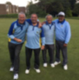 Tarring Priory Bowls 2017 2 Wood Pairs Finalists