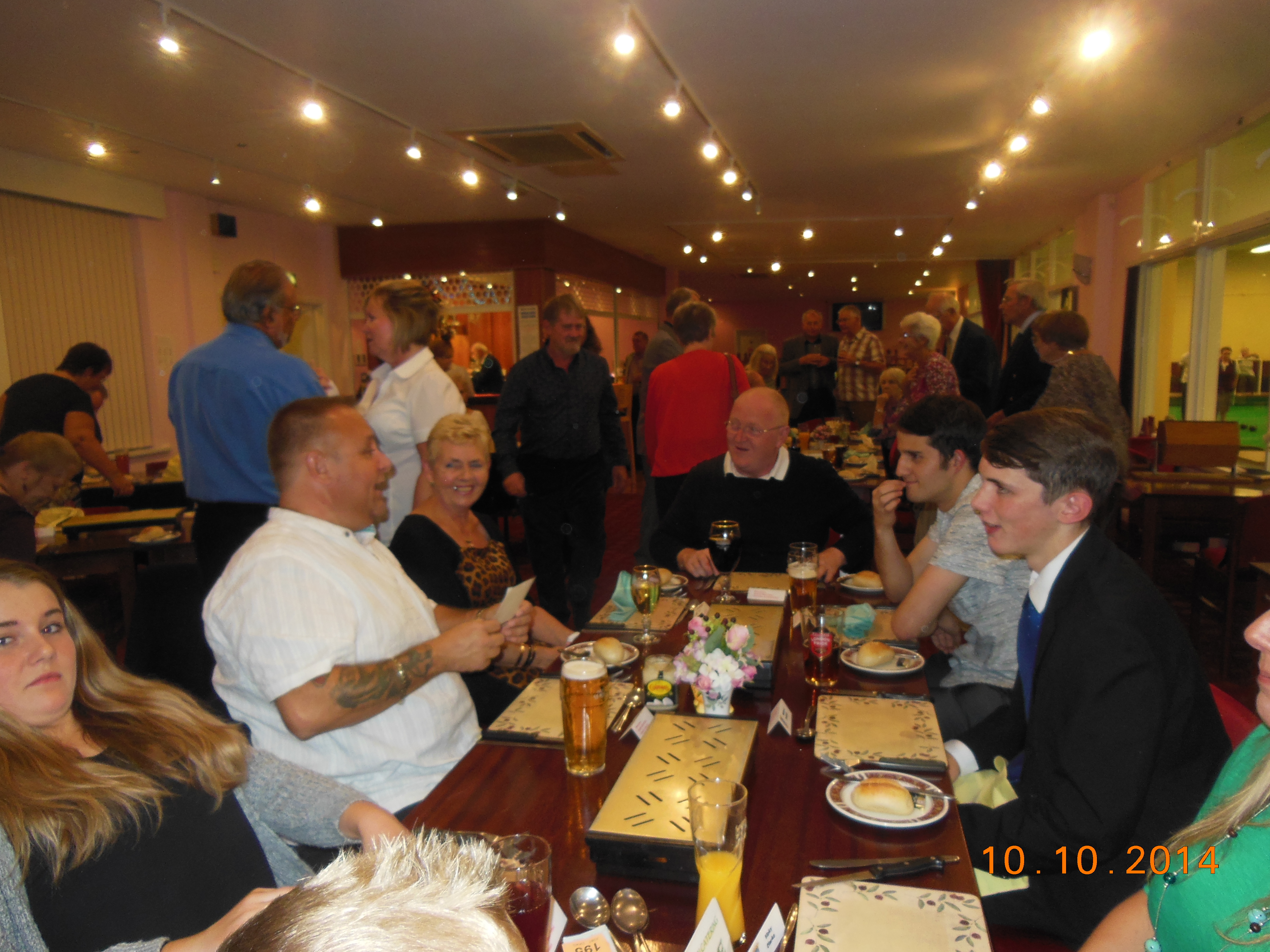 End of Season Dinner 2014