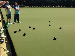 Final end at Southbourne PC Cup