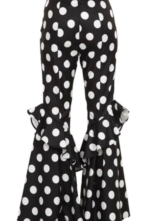Ruffle Polka Dot Pants