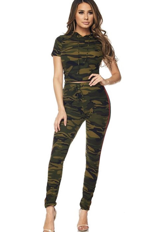Camouflage Casual Set