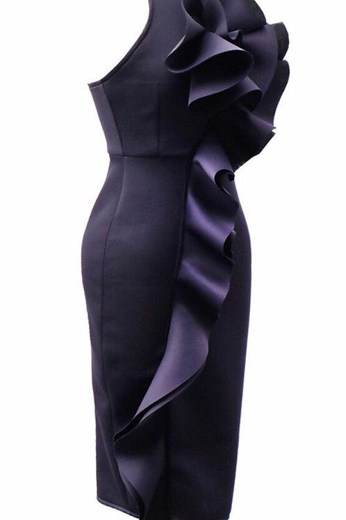 3-D Flower Dress