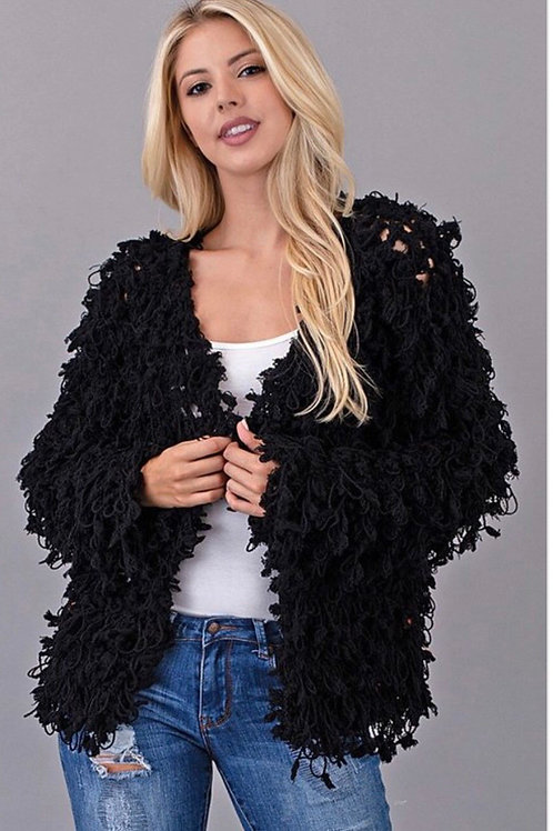 Soft Shaggy Jacket