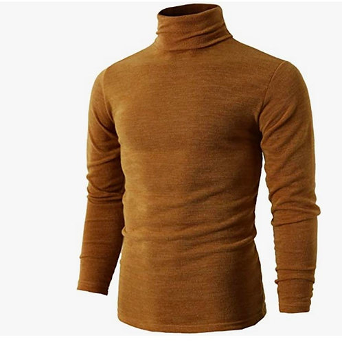 Knitted Thermal Turtleneck