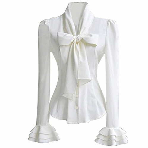 Vintage Bow-Tie Shirt