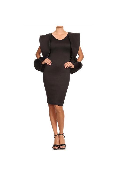 Open arm Bodycon Dress