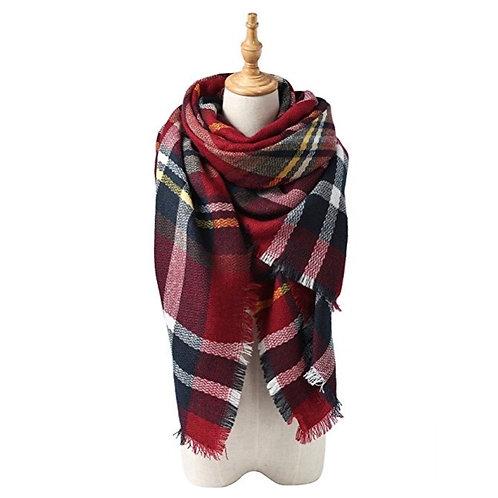 Stylish Warm Blanket Scarf/Shawl