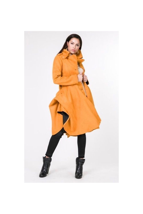 Suede Tacking Coat
