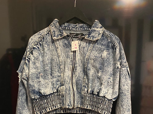 Denim Stoned Wash Jacket