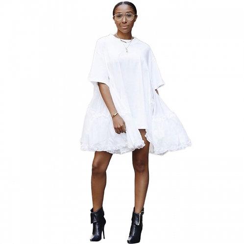 Loose Casual Stitching Dress