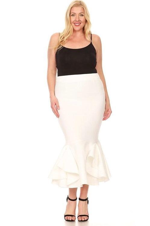 Mermaid Ruffle Skirt