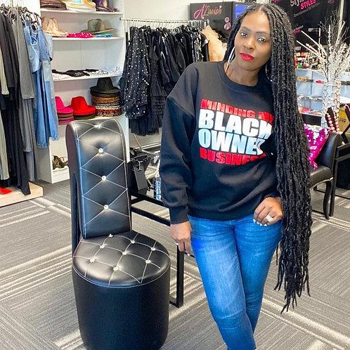 Minding my Black Owned Business Sweatshirt