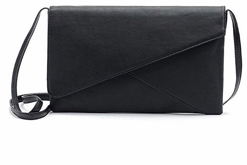 Envelope Leather Crossbody Purse