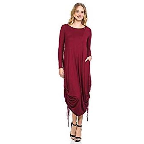 Harem Shirring Dress