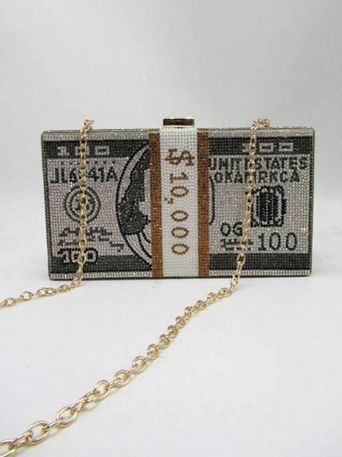 Bling Money Stack Bag