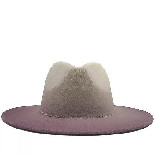 Ombre Fedora Hat