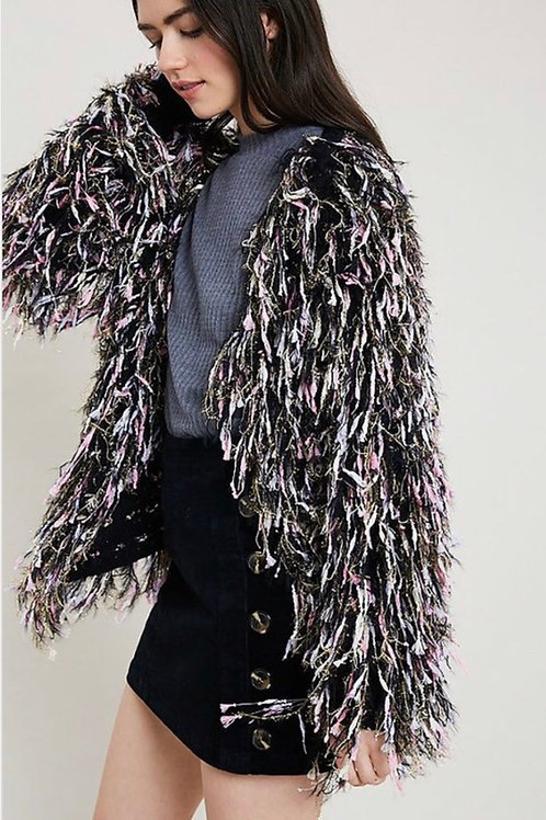 Fringe Shaggy Jacket