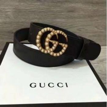 Pearl Gucci Belt