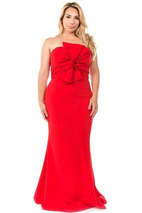 Front Knot Mermaid Dress