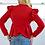 Thumbnail: V Ruffle Shoulder Jacket