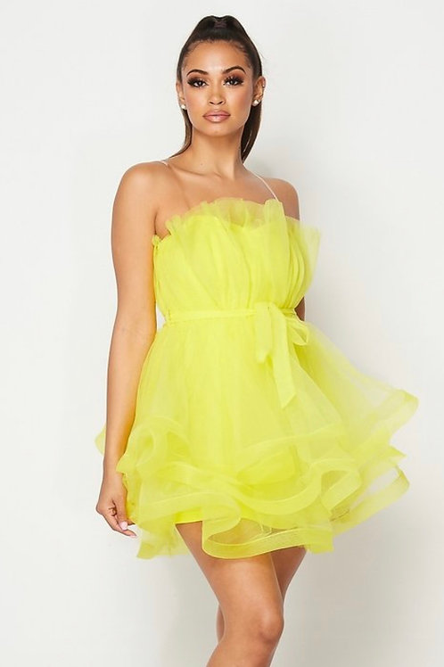 Princess Tube Tulle dress