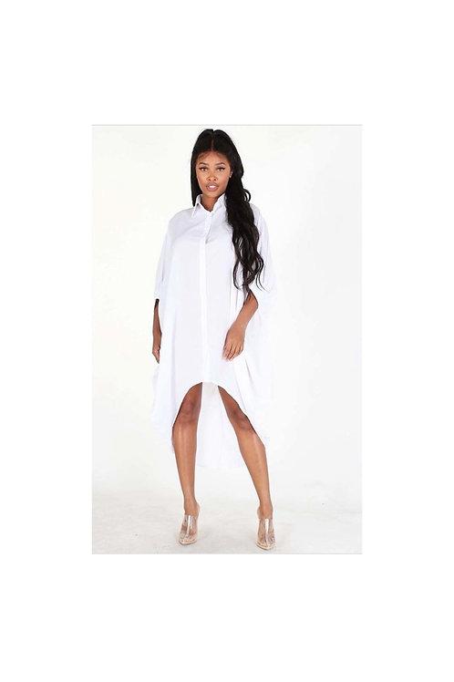 Dolman Hi Low Dress