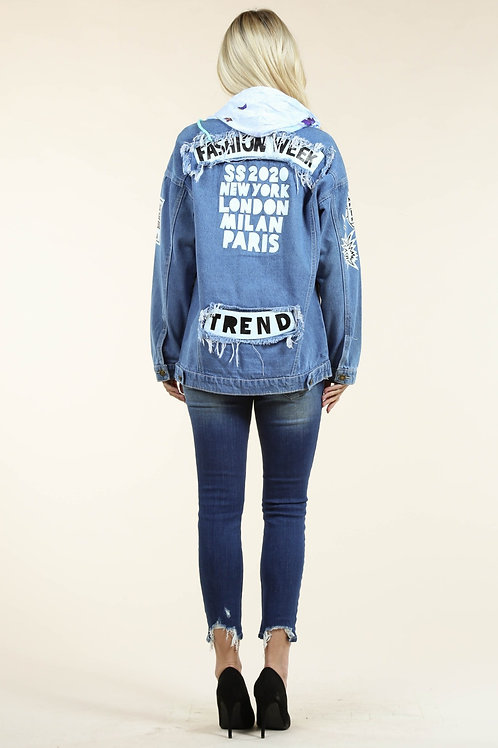 Fashion Week Denim Jacket