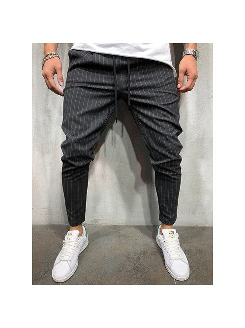 Stripe Drawstring Pants