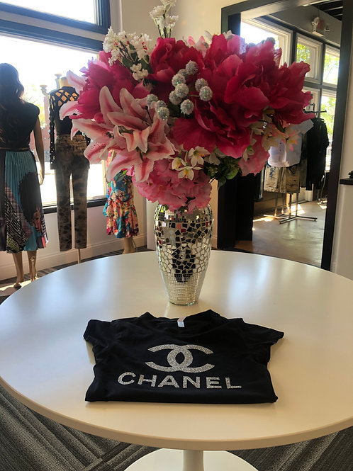 Chanel Bling Fitted T-shirt
