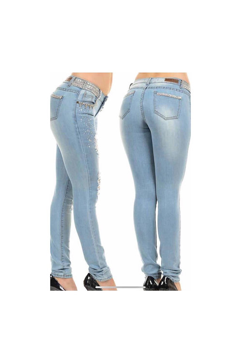 Rhinestone Jeweled Jeans