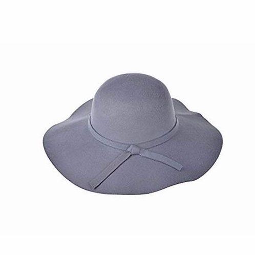 Fedora Hat Floppy Hat Wool Wide Brim Hat