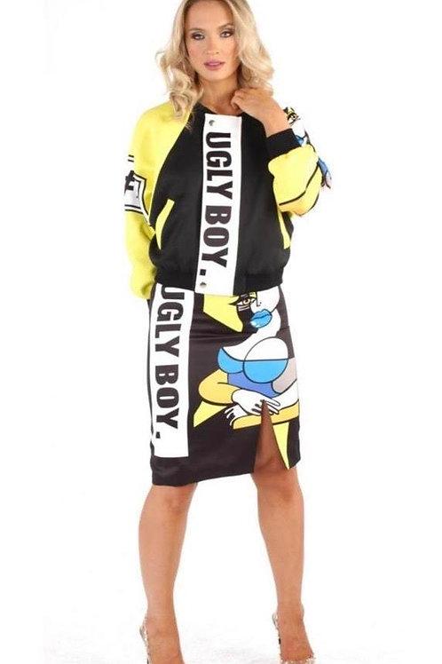 Ugly Boy Skirt Set
