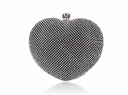 Heart Shape Mini Clutch