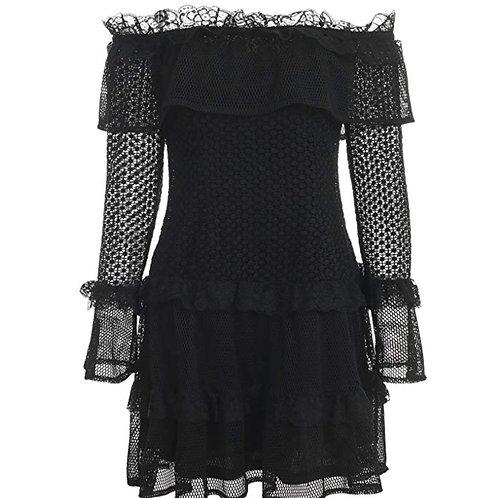 Sexy Off Shoulder Lace Shirt/Dress