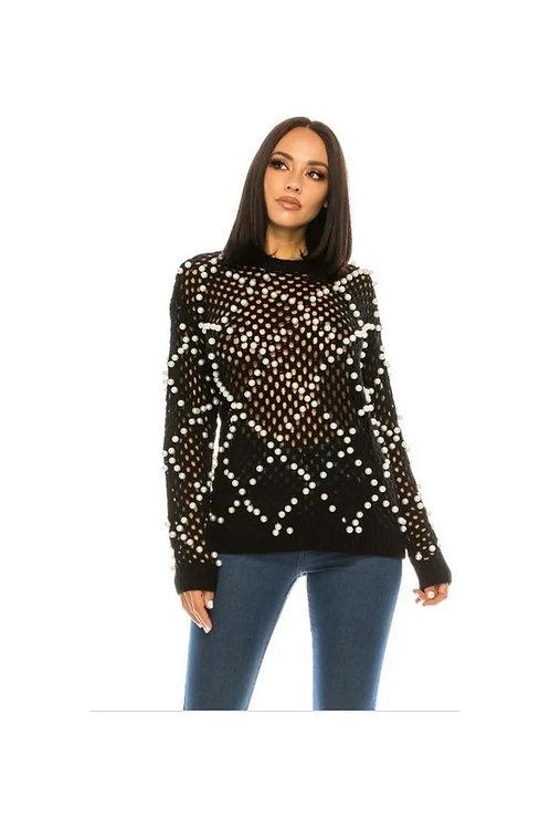Pearl Knit Sweater