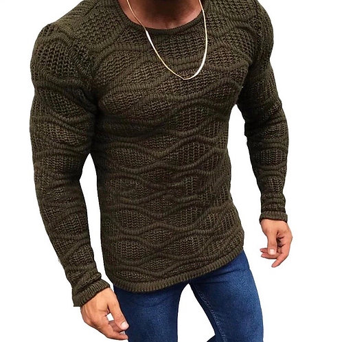 Knitted Slim Fit Sweater