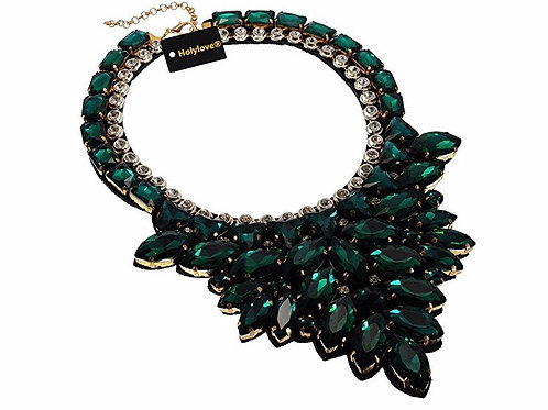Shiny Statement Collar Necklace