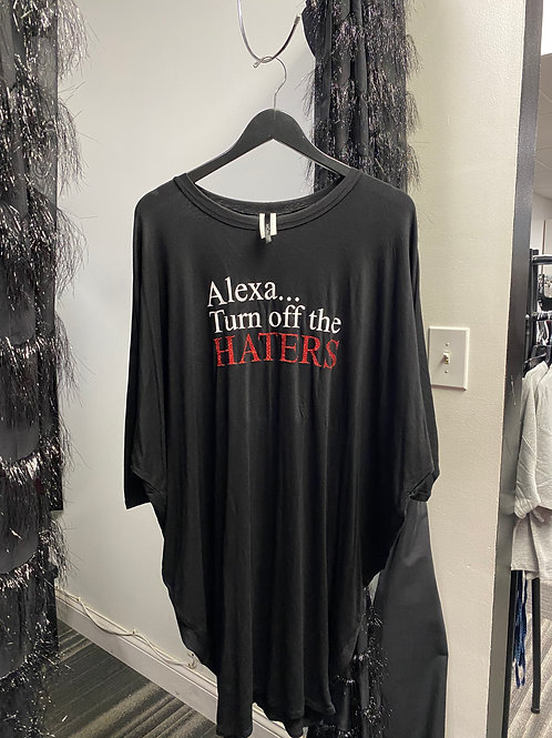 Alexa Turn Off The Haters Dress