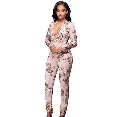 Sequins Embellished Jumpsuit