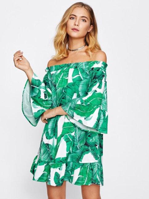 Tropical Jungle Dress