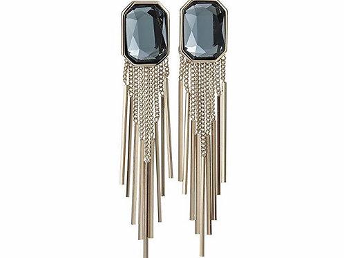 Austrian Crystal Tassel Bacy Blye Earrings