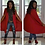 Thumbnail: Long Casual Open Front Cape Blazer