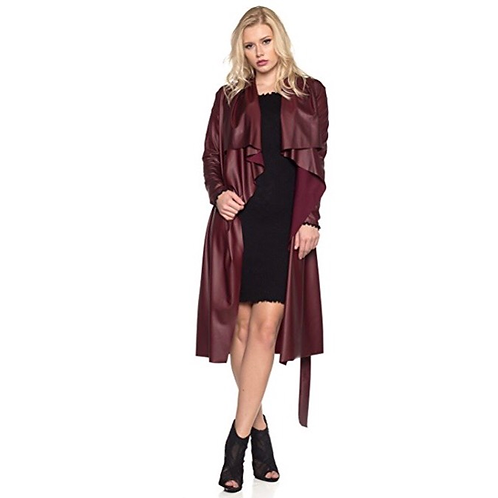 Leather Duster Coat