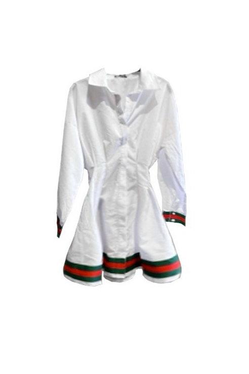 Gucci Inspired Shirt Dress