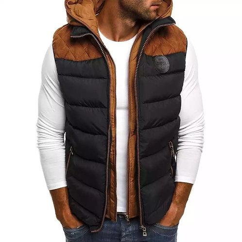 Sleeveless Hooded Vest