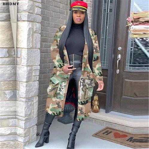 Camouflage Sista Jacket