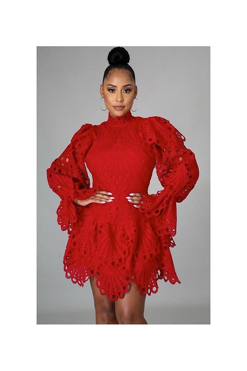 Crochet Parisian Style Dress