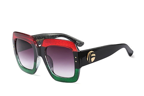 Gucci Inspired Tinted Sunglasses