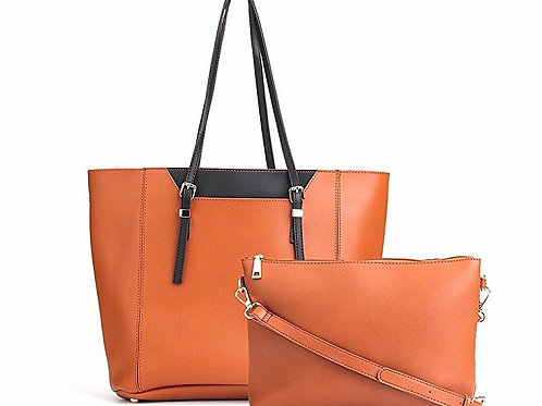 Large PU Leather Handbag